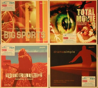 V.A.Atmosphere: 25 CDs from Sound Library, Atmos(), ,  - 25CD - 92621 - 10,00 Euro