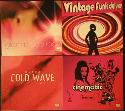 V.A.AXS Music: 25 CDs from Music Library, Digi, AX'S(AXS**), ,  - 25CD - 92627 - 10,00 Euro