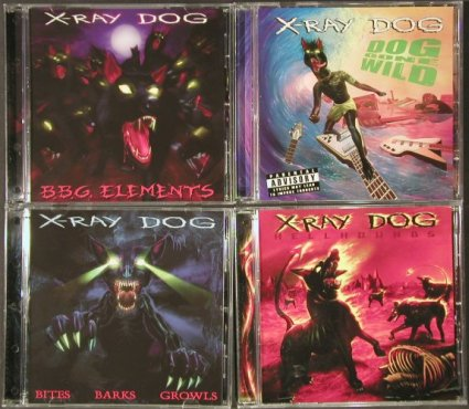V.A.X-Ray Dog: 5 CDs from Library, Kapagama(), ,  - 5CD - 92634 - 4,00 Euro
