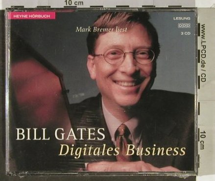 Digitales Business: Mark Bremer liest Bill Gates,FS-New, Heyne(), D, 1999 - 3CD - 93031 - 7,50 Euro