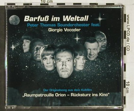 Thomas Sound Orch.,Peter: Barfuß im Weltall*2+2, mix, StereoGen.(003), D, 2003 - CD5inch - 93038 - 4,00 Euro