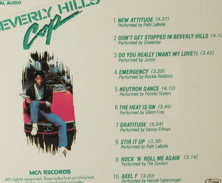 Beverly Hills Cop: V.A.10 Tr., MCA(251 723-2), D, 1985 - CD - 93364 - 10,00 Euro