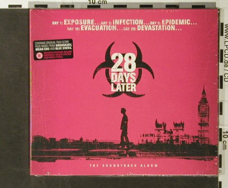 28 Days Later: Film Score, 21 Tr., Digi, XL Rec.(), UK, 2003 - CD - 93658 - 10,00 Euro