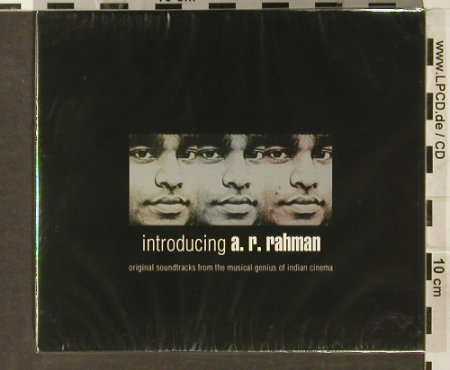 Rahman,A.R.: Introducing,(Bollywood) FS-New, Saregama India(), EU, 2006 - 2CD - 94004 - 11,50 Euro