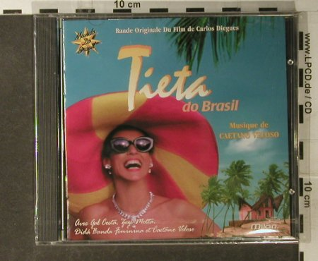 Tieta Do Brasil: Bande Original du Film, FS-New, Natasha(46612-2), EU, 1996 - CD - 95048 - 11,50 Euro