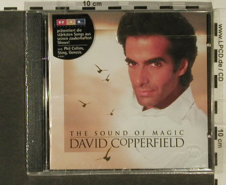 Copperfield,David: The Sound Of Magic,17 Tr., FS-New, WB(), D, 1994 - CD - 95278 - 10,00 Euro