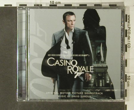James Bond-Casino Royale: Soundtrack by David Arnold, FS-New, Sony Classical(), EU, 2006 - CD - 95387 - 10,00 Euro