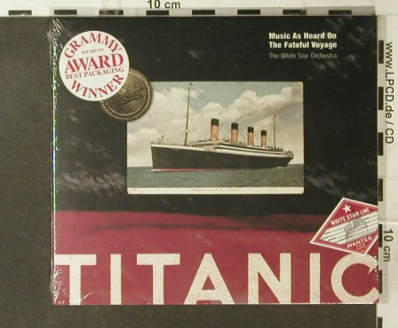 White Star Orchester: Titanic-Music As Heard O.T.Fateful, Rhino/Repertoire(REP 4685-WY), D FS-New, 1997 - CD - 95427 - 10,00 Euro