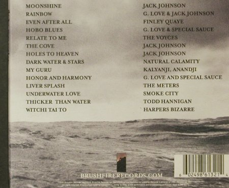 Thicker Than Water: Music From A Film by J.Johnson, Bushfire Records(), EU, 2003 - CD - 95560 - 11,50 Euro