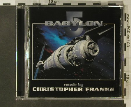 Babylon 5: Music by Christoph Franke, PTN Consortium(SI 8502-2), CDN, 1995 - CD - 95579 - 10,00 Euro