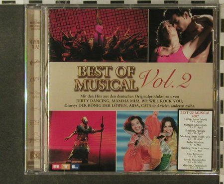 V.A.Best Of Musicals Vol.2: 18 Tr., FS-New, Stage Entertainment(SPV-35922-CD), D, 2006 - CD - 95811 - 7,50 Euro