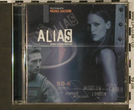 Alias: 26 Tr.Composed By Michael Giacchino, Varese(VSD-6521), D, 03 - CD - 96972 - 10,00 Euro