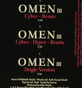 Magic Affair: Omen III *3, Remix, Electrola(), D, 94 - CD5inch - 97023 - 2,50 Euro