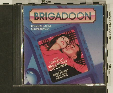 Brigadoon: Original MGM Soundtrack, CBS(AK 45440), US, 1990 - CD - 97068 - 10,00 Euro