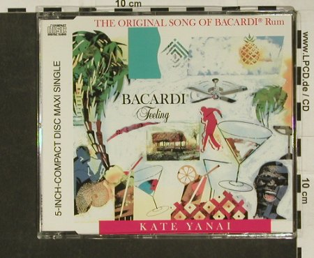 Yanai,Kate: Bacardi Feeling*4, WEA(), D, 91 - CD5inch - 97073 - 3,00 Euro