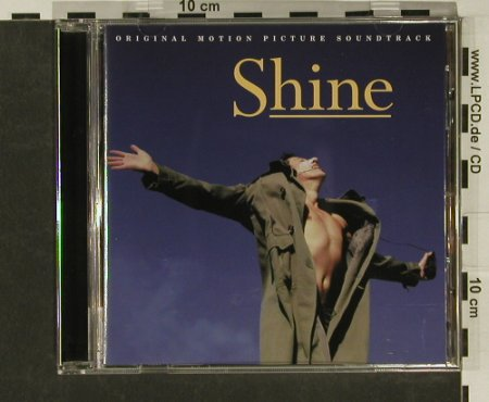 Shine: 34 Tr. By David Hirschfelder, Philips(), , 1996 - CD - 97091 - 7,50 Euro