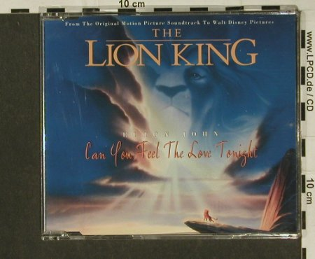 Lion King: 4Tr..-2Tr..by Elton John, Mercury(), D, 1994 - CD5inch - 97299 - 3,00 Euro