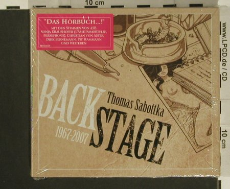 Backstage: von Thomas Sabottka, Digi, FS-New, Trisol(), , 2007 - 2CD - 97613 - 10,00 Euro