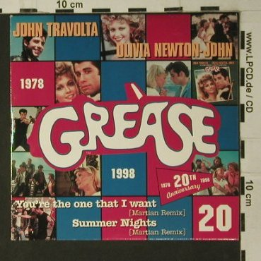 Grease by Martian Remix: You're the one That I want+1,Promo, Polydor(), D,Digi, 1998 - CD5inch - 97790 - 4,00 Euro