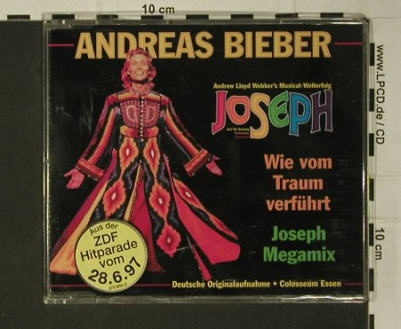 Joseph - Andreas Bieber: Wie vom Traum verführt,Mega Mix, The Realy Useful Group(), D, 1997 - CD5inch - 97791 - 3,00 Euro