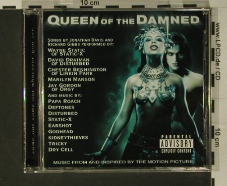 Queen Of The Damned: Music From, Warner(), D, 2002 - CD - 97827 - 7,50 Euro