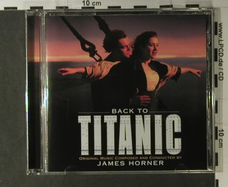 Titanic (Back To): comp.+cond. by James Horner, Paramount(), A, 1998 - CD - 98123 - 5,00 Euro