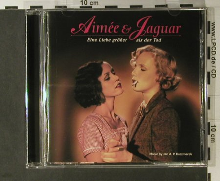 Aimee & Jaguar: Original Soundtr.By Jan Kaczmarek, Sova Media(), D, 1999 - CD - 98240 - 7,50 Euro