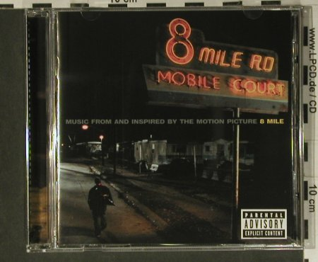 8 Mile: Music fr.and inspired, 16 Tr., Snad/Interscope(), EU, 2002 - CD - 98895 - 7,50 Euro