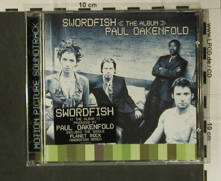 Swordfish: Soundtr.by Paul Oakenfold, WB(), D, 2001 - CD - 98969 - 10,00 Euro