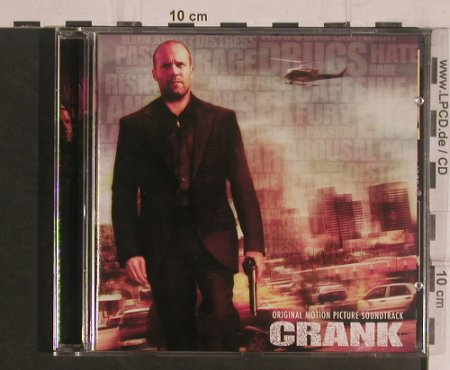 CRANK: Original Motion Picture, 35 Tr., Bodog Music(017886BDM), , 2007 - CD - 99504 - 10,00 Euro