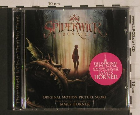 Spiderwick Chronicles: Orign.Motion Picture Score,J.Horner, Paramount(0187237BDM), , 2007 - CD - 99637 - 10,00 Euro