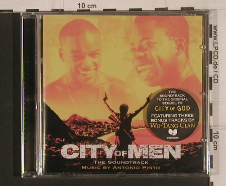 City of Men: Original Soundtrack, Lakeshore Rec.(0189370BDM), , 2008 - CD - 99644 - 7,50 Euro