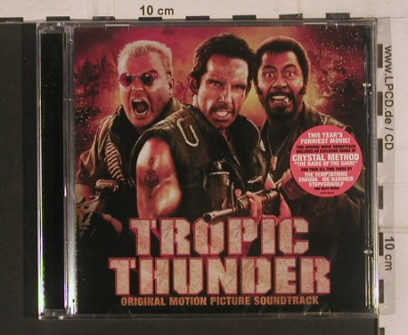 Tropic Thunder: Crystal Method,Temptations...V.A., Lakeshore(BDM0136029), FS-New, 2008 - CD - 99645 - 7,50 Euro
