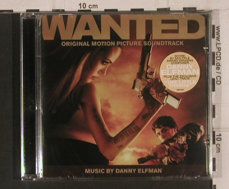 Wanted: Soundtrack,by Danny Elfman, FS-New, Lakeshore Rec.(BDM0136227), , 2008 - CD - 99646 - 10,00 Euro