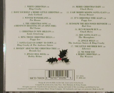 V.A.The White Christmas Album: 18 Tr. Bing Crosby..The Weavers, MCA(), EC,  - CD - 68967 - 5,00 Euro