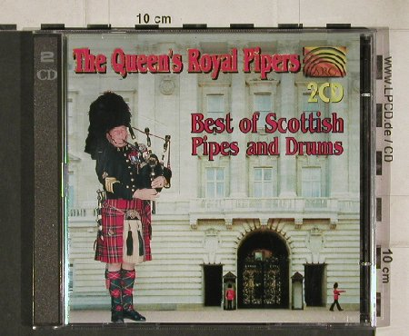 Queen's Royal Pipers: Best of Scottish Pipes and Drums, ARC Music(30 875 9), D, 1996 - 2CD - 81163 - 5,00 Euro