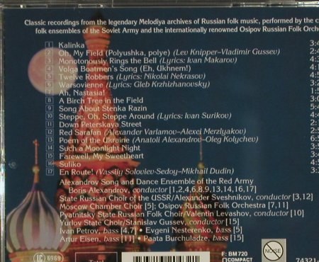 Red Army Chorus: Moonlight over Moscow, Melodia(), EC, 1996 - CD - 83933 - 6,00 Euro