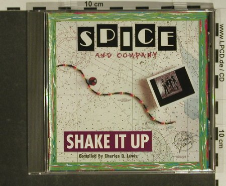 Spice & Company: Shake it Up ( Caribe Pop ), BlueVision(), D, 1992 - CD - 84090 - 5,00 Euro