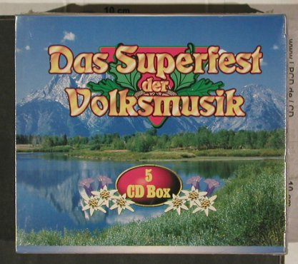 V.A.Das Superfest der Volksmusik: Box Set, FS-New, MSE/SPV(), D,  - 5CD - 92262 - 9,00 Euro