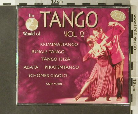 V.A.Tango Vol.2: The World of,instrumental div.Orch, ZYX(11126-2), D, FS-New, 98 - 2CD - 95548 - 7,50 Euro
