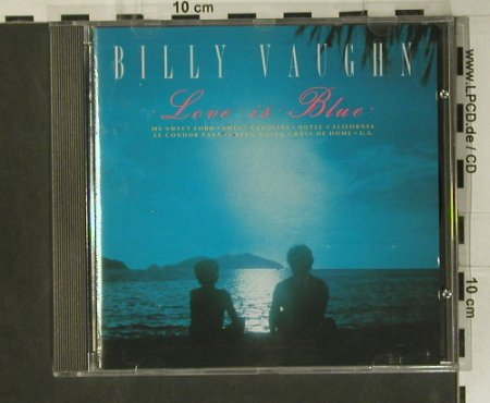 Vaughn,Billy: Love is Blue, Bellaphon(288 07 170), D, 1991 - CD - 98986 - 5,00 Euro