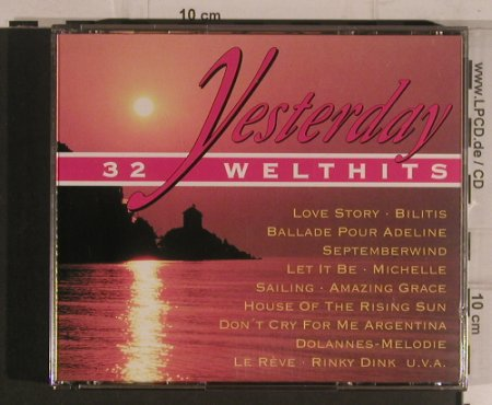 V.A.Yesterday: 32 Welthits, Delta(98998), D, 1993 - 2CD - 99611 - 5,00 Euro