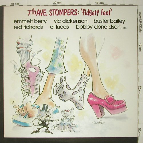 7th Ave. Stompers: Fidgety Feet, Ri, Savoy(WL70509), D, 1984 - LP - C6427 - 6,00 Euro