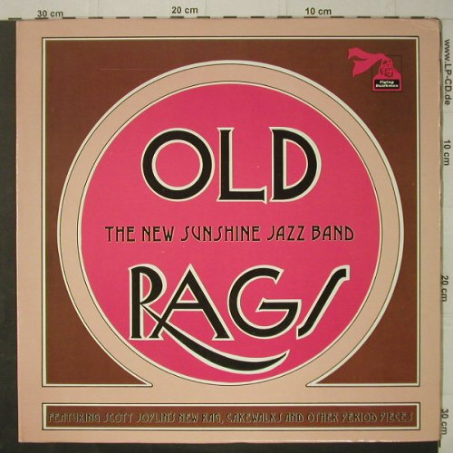 New Sunshine Jazz Band: Old Rags, Foc, Flying Dutchman(BDL1-0549), US, 1974 - LP - C7179 - 7,50 Euro