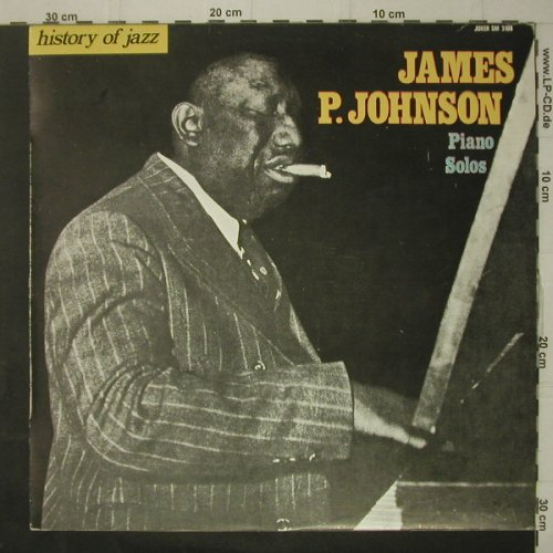 Johnson,James P.: Piano Solos, Joker(SM 3108), I, 1971 - LP - C7180 - 5,00 Euro
