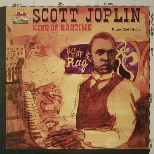 Joplin,Scott: King Of Ragtime-Piano Roll Solos, Giants o.J(LPJT 28), I, 1985 - LP - C7185 - 5,00 Euro