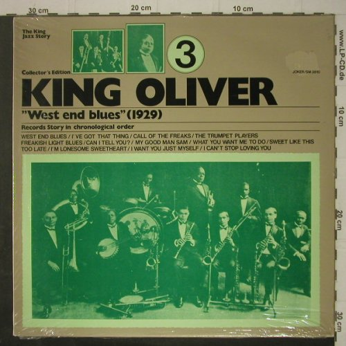 King Oliver: Vol.3, West End Blues, FS-New, Joker(SM 3810), I,  - LP - C7245 - 5,00 Euro