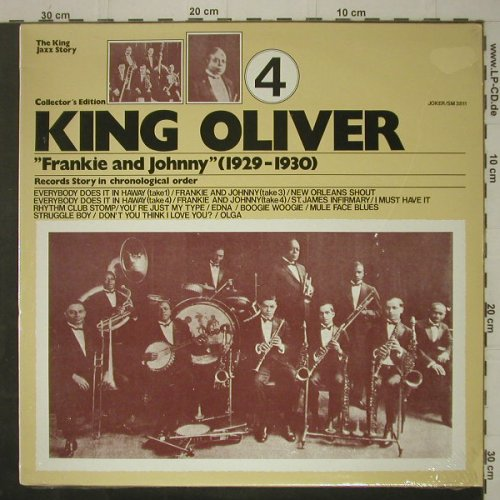 King Oliver: Vol.4,Frankie a.Johnny 29-30,FS-New, Joker(SM 3811), I,  - LP - C7246 - 5,00 Euro