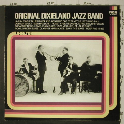 Original Dixieland Jazz Band: Same, RCA(NL 42745), I, 1979 - LP - C7289 - 5,00 Euro