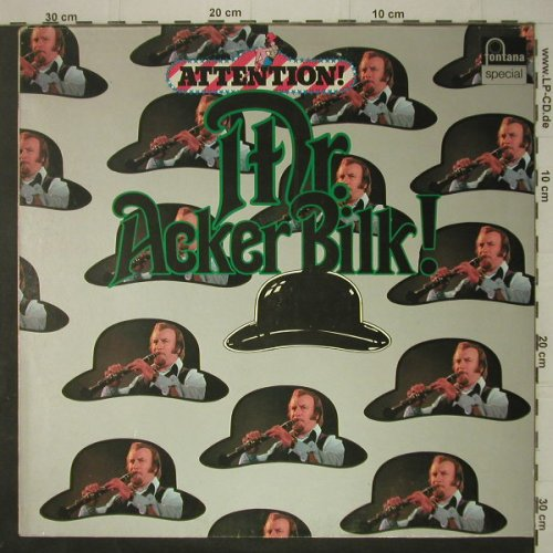 Acker Bilk,Mr.: Attention!, Fontana special(6459 205), D,  - LP - C7326 - 5,00 Euro